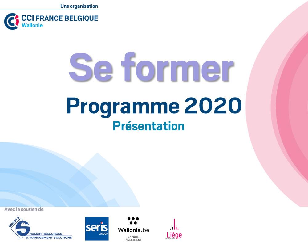 Programme 2020 - Présentation