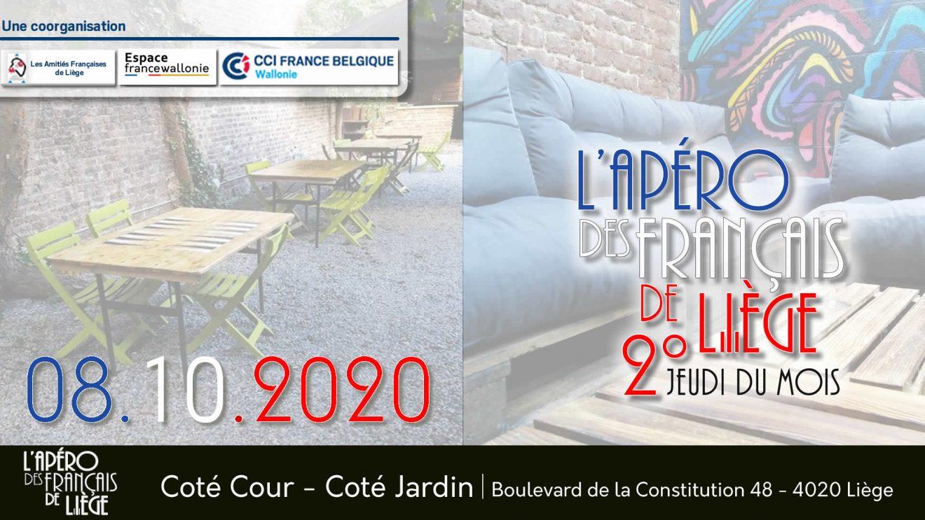 L'Apéro des Français de Liège - Octobre 2020